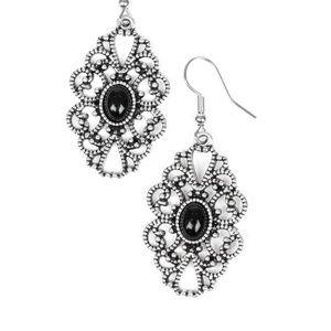 Black earrings paparazzi